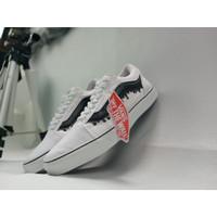 Sepatu PROMO SEPATU VANS AUTHENTIC LUMER BLACK HITAM /WHITE COKLAT