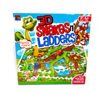 Mainan 3D snake leader besar | Ular Tangga 3 Dimensi