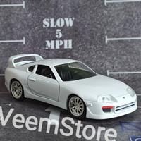 Die Cast 1:32 Toyota Supra White JDM Jada [fast and furious]