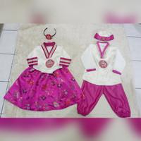 hanbok anak couple baju adat tradisional korea costume kostum
