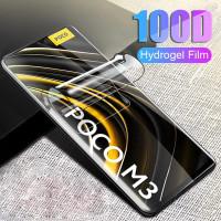 Anti gores Hydrogel Xiaomi Poco M3 Screen guard Pocophone M3