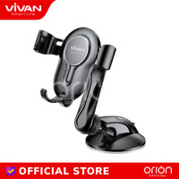 VIVAN Car Holder HP Mobil CHS06 Suction Cup Lock Phone Holder Mobil