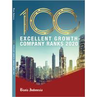 Majalah 100 Excellent Growth Company Ranks 2020