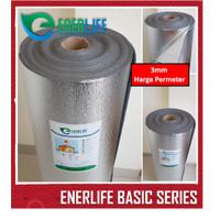 Harga Alumunium Foil Atap Foam Double 3mm Per meter EnerLife B-3M2
