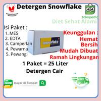 SNOWFLAKE PAKET BAHAN DETERJEN CAIR
