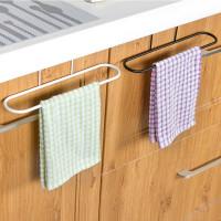 Gantungan Lap Celemek Handuk Hook Pintu Lemari Dapur WC dll Besi KUAT