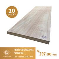 High Performance Plywood 5,5mm x 1220mm x 2440mm