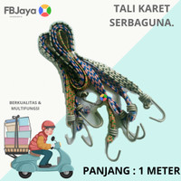 Tali bagasi, Tali pengikat barang motor gepeng, panjang 1meter