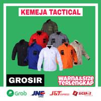 Kemeja Tactical Jumbo PDL Lapangan Outdoor Baju Tactikal 511 Grosir