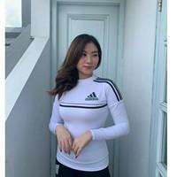 Baju Atasan Adidas Senam Zumba Yoga lengan panjang 2