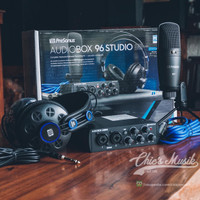 Presonus Audiobox 96 Studio paket recording