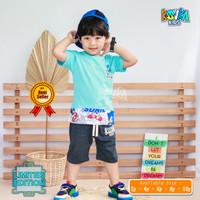 Atasan Kaos Dan Celana Pendek Anak Laki Laki Terkenal Kovka Sonic - SONIC, 2