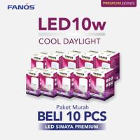 Sinaya Premium Lampu Led 10 Watt Paket 10 Pcs - Bohlam Murah 10 W 10W