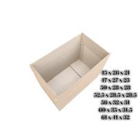 DUS BOX KARDUS KARTON BESAR POLOS PACKING 60 x 40 x 30 - 1