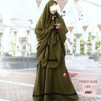 Set Arabian by Humairra / gamis wanita plus Khimar dan cadar