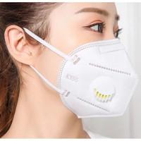 Masker KN95 RESPIRATOR FILTER 3D Masker N95 KN 95 Masker FILTER KATUP