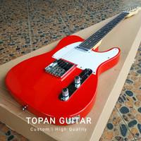 Gitar Listrik / Elektrik Fender Telecaster Natural Custom