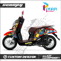 STIKER DECAL MOTOR HONDA SCOOPY ONE PEACE THAILOOK PREMIUM QUALITY