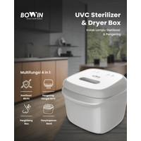 Bowin UV C Sterilizer & Dryer 4in1 Box (Baby Bottle Sterilizer &Dryer)