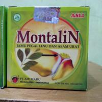 Montalin Original 100% dijamin asli herbal asam urat pegel linu nyeri
