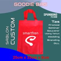 Tas GoodieBag + Sablon Custom 25x35x8cm TALI