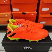 SEPATU BOLA ADIDAS NEMEZIZ 19.3 Orange Volt FG - Sepatu soccer Adidas
