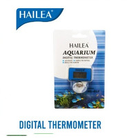 Hailea HL-01F Digital Thermometer aquarium marine air laut air tawar