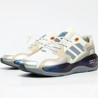 Sepatu Adidas ZX alkyne Halo silver Glow/Cloud White Premium