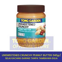 Tong Garden 340G Unsweetened Crunchy Peanut Butter