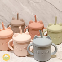 Baby Silicone Cat Cup / Gelas Silikon Anak