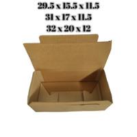 DUS BOX KARDUS PACKING KARTON POLOS - 21 x 13 x 9