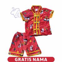 Baju Anak Cina Setelan Anak Tionghoa Baju Cina Murah 8 sampai 2 tahun - 6-9 Bulan