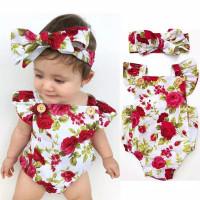 Baju bayi perempuan import jumpsuit bayi perempuan jumper bayi romper