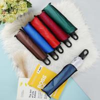 Payung Lipat Gagang Tumbler Travel Korea Lapis Silver Umbrella Anti UV