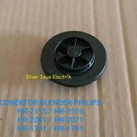 CONEKTOR BLENDER PHILIPS HR-2115 - HR-2116 - HR-20611 - HR-2071 - HR-1