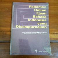 buku pedoman umum ejaan BHS indonesia yg di sempurnakan (g)