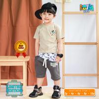Stelan Pakaian Anak Laki 2 4 6 8 10 Tahun / Pakaian Stelan Anak Cowo