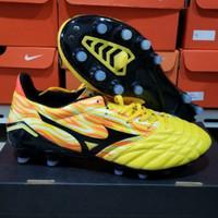 Sepatu Bola Mizuno Morelia Neo 2 Yellow Orange FG - Sepatu soccer