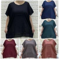 baju jumbo wanita atasan big size wanita size XXXXL