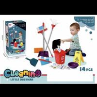 mainan cleaning service/mainan cleaning little dustman/mainan anak