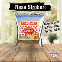 Bumbu Tabur Kingmix Rasa Stroberi 1 kg