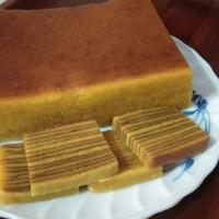 Kue lapis legit Original uk. 10x20/kue lapis spikuk wisman/kue imlek