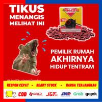 OBAT TIKUS MATI KERING untuk mobil & rumah / racun tikus ramtus 2 pcs