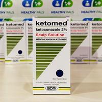 Ketomed Shampoo 60 ml 2% shampo ketomed ss anti DHT anti ketombe