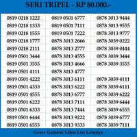 Nomor Cantik XL 4G LTE Seri Tripel Murah Kartu Perdana Axiata