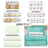 Elegance Baby Pillow & Bolster Set - Bantal Set isi 3 pcs