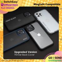 SwitchEasy Aero Plus Case iPhone 12 Pro Max 12 Pro Mini Slim Casing - iPh 12 Pro Max, Frost Clear
