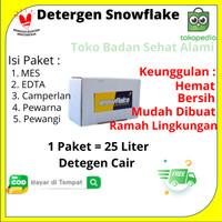 SNOWFLAKE BAHAN DETERGENT CAIR (DILENGKAPI DENGAN ANTI-BACTERIA)