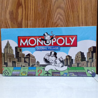 monopoly global village/mainan edukasi anak