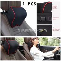 Bantal Sandaran Leher Kepala Jok Mobil Headrest Memory Foam ORIGINAL